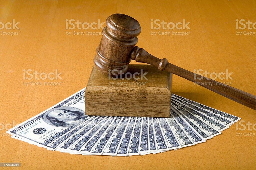 Bribery royalty-free stock photo