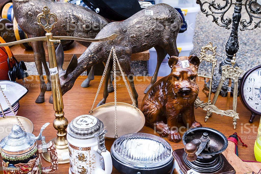 Bric a Brac royalty-free stock photo
