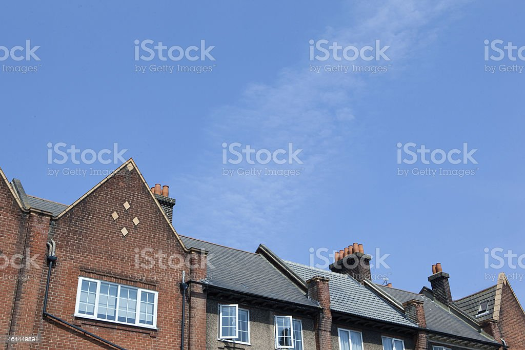 Brick Apartment Building royalty-free stock photo