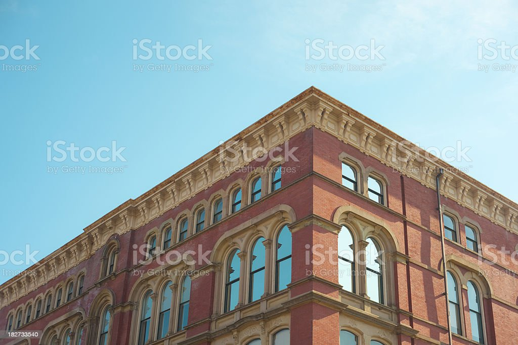 Brick Apartment or Office royalty-free stock photo