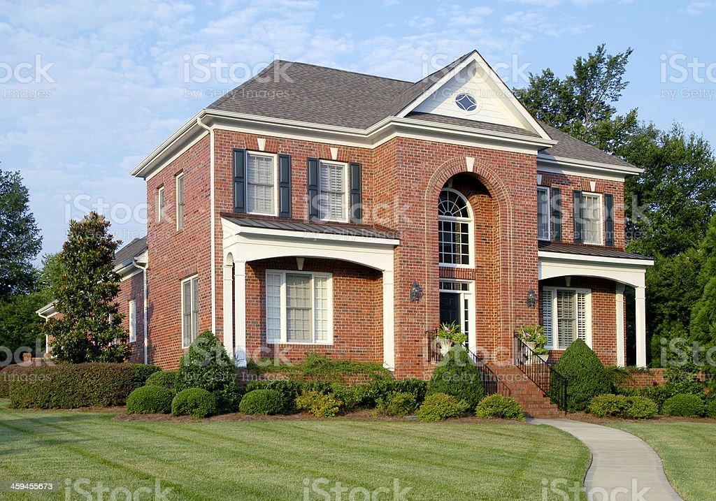 Brick Architecture royalty-free stock photo