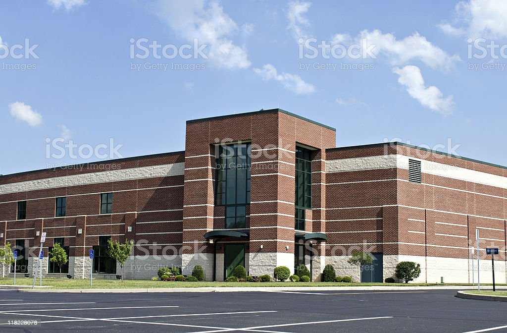 Brick Business Building stock photo