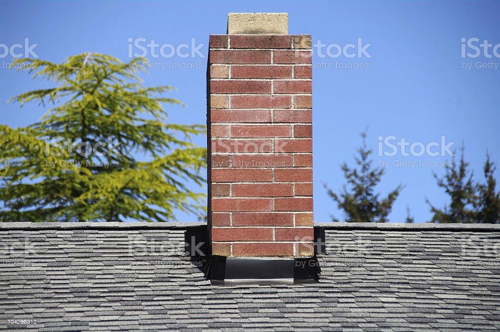 Brick Chimney stock photo