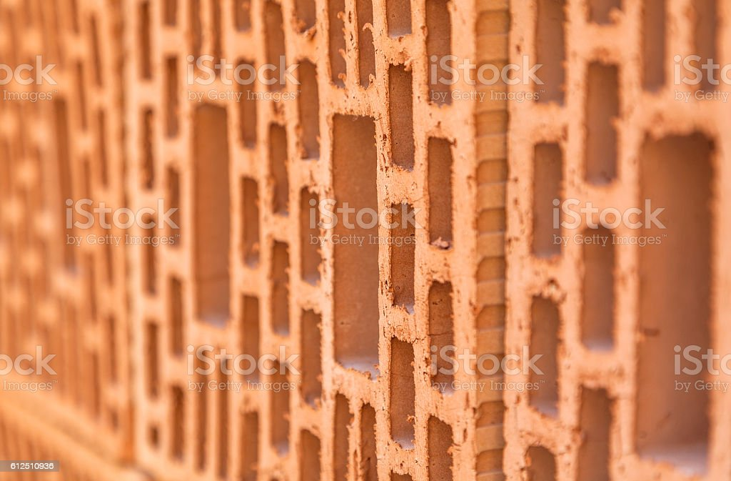 Brick close up stock photo