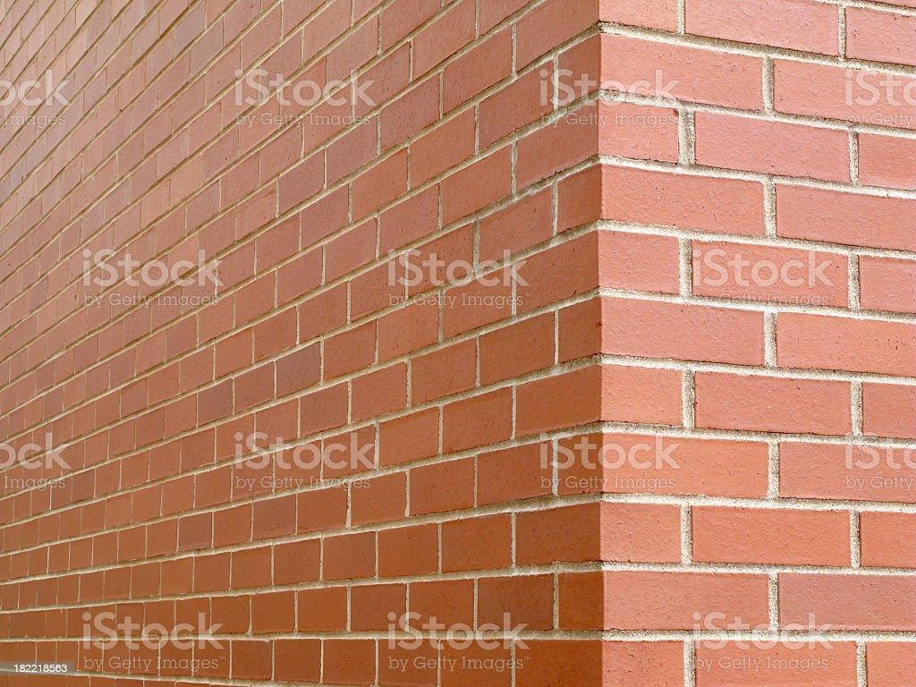 Brick Corner. stock photo
