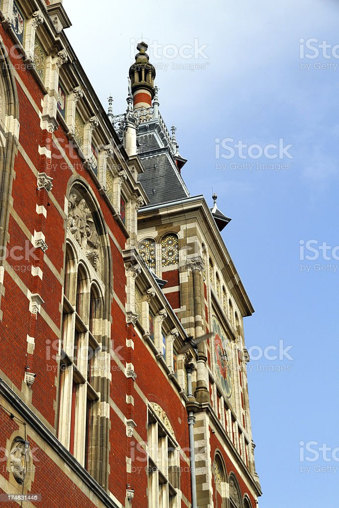 Brick Elegance stock photo