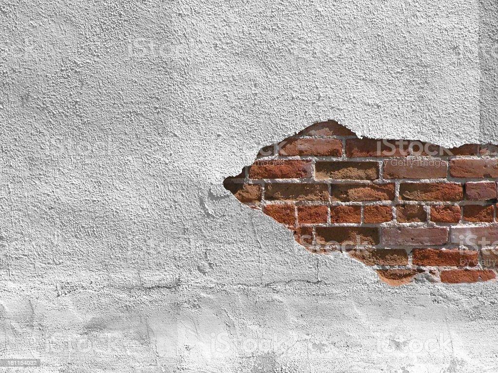 brick expose' stock photo