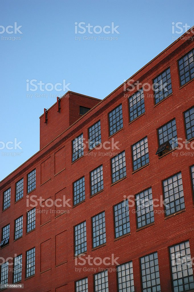 Brick Factory royalty-free stock photo
