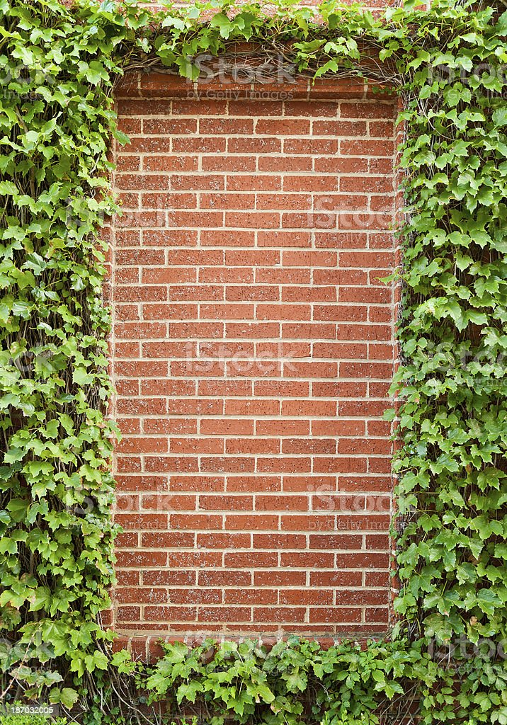 Brick Frame royalty-free stock photo