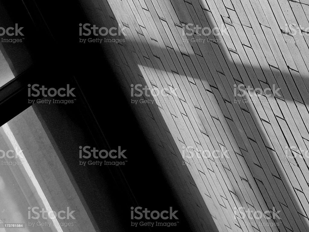 Brick & Glass Cross 2005.JPG stock photo
