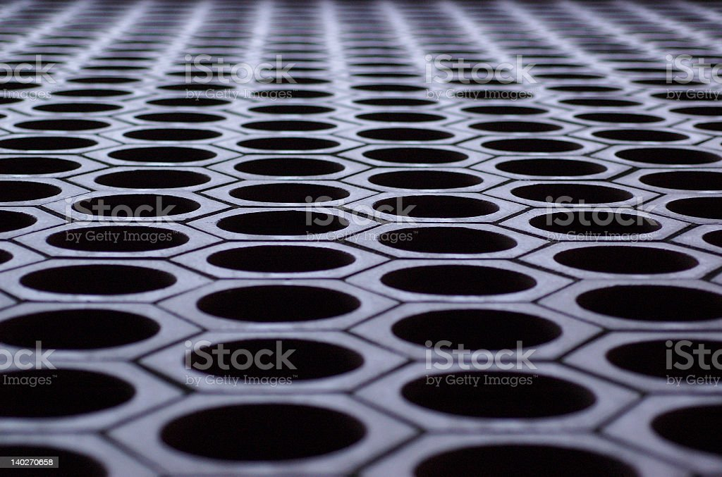 Brick Grating royalty-free stock photo