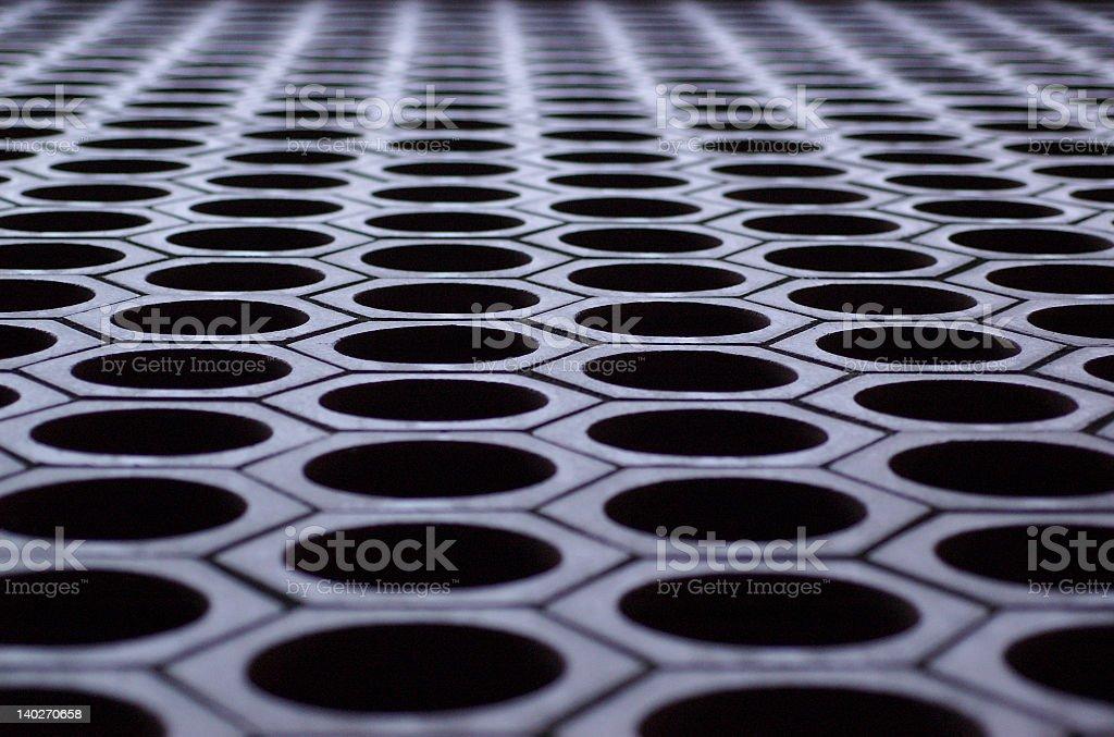 Brick Grating stock photo