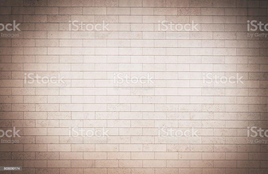 Brick grunge brown wall background stock photo