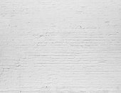 Brick grunge white painted texture