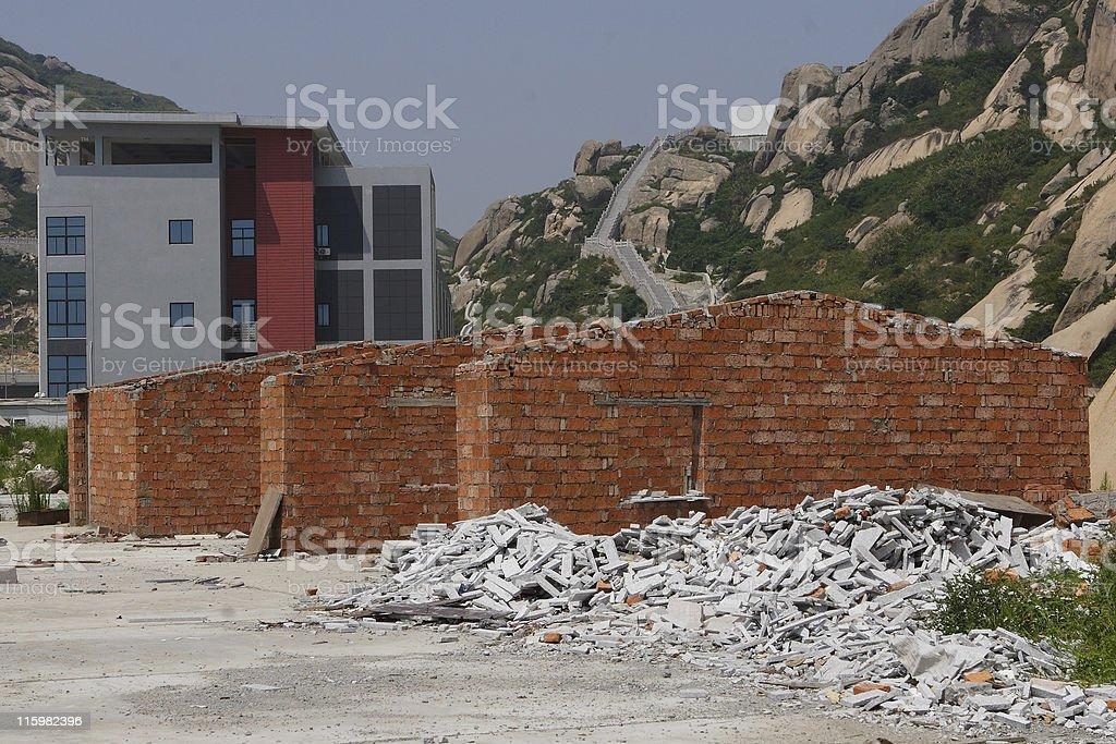 Brick House royalty-free stock photo