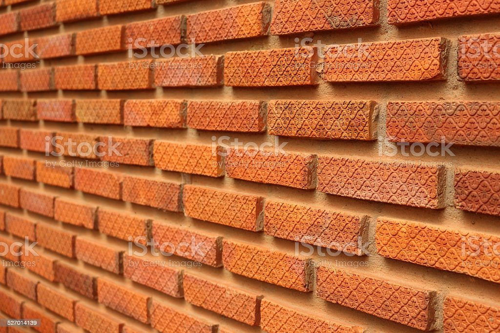 brick in the wall background stock photo