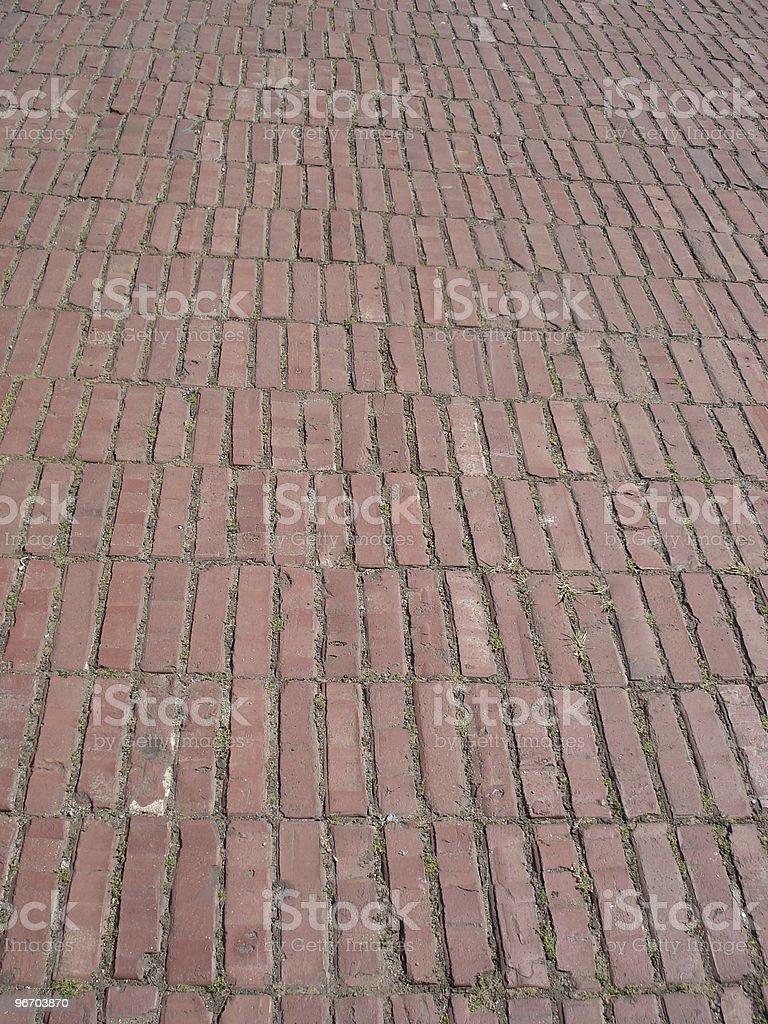 brick path royalty-free stock photo
