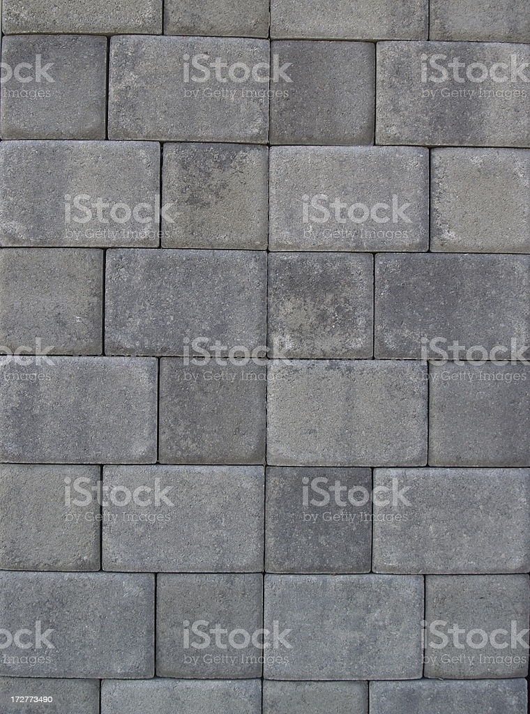 Brick Pavers - B royalty-free stock photo