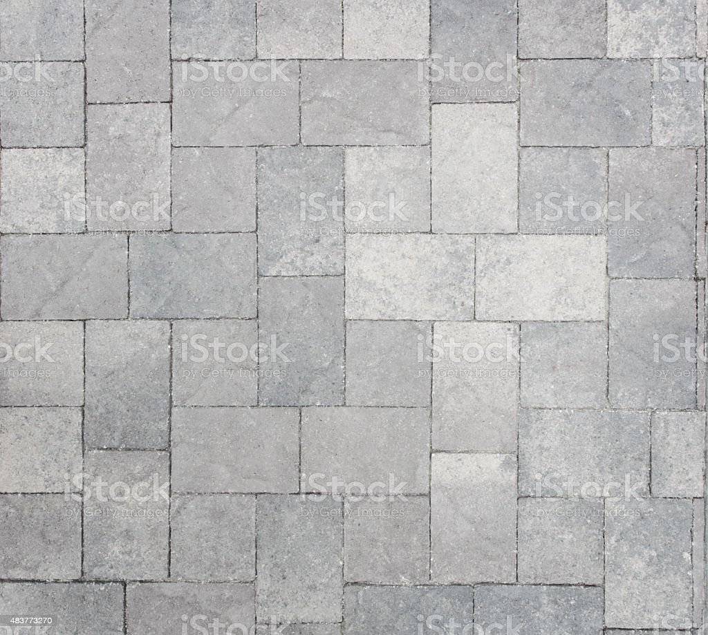 Brick Paving Texture Background stock photo