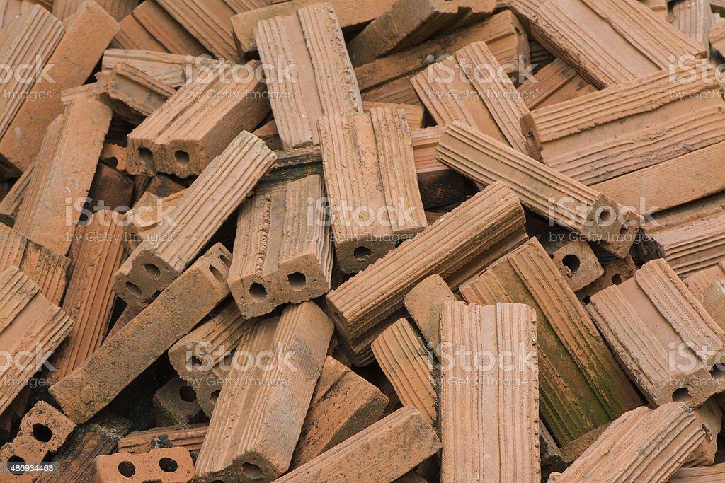 ?Brick pile stock photo