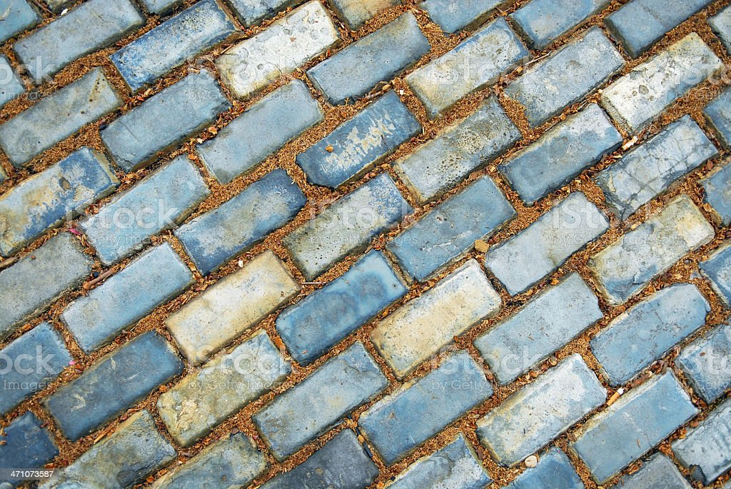 Brick Road (of the second kind) royalty-free stock photo