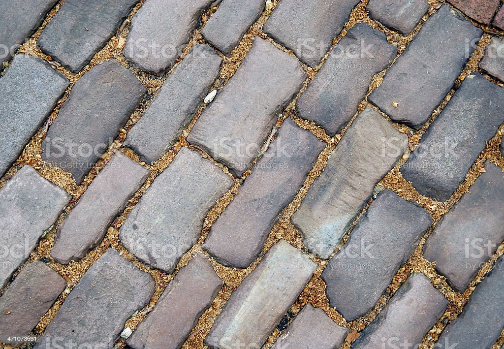 Brick Road (of the first kind) royalty-free stock photo