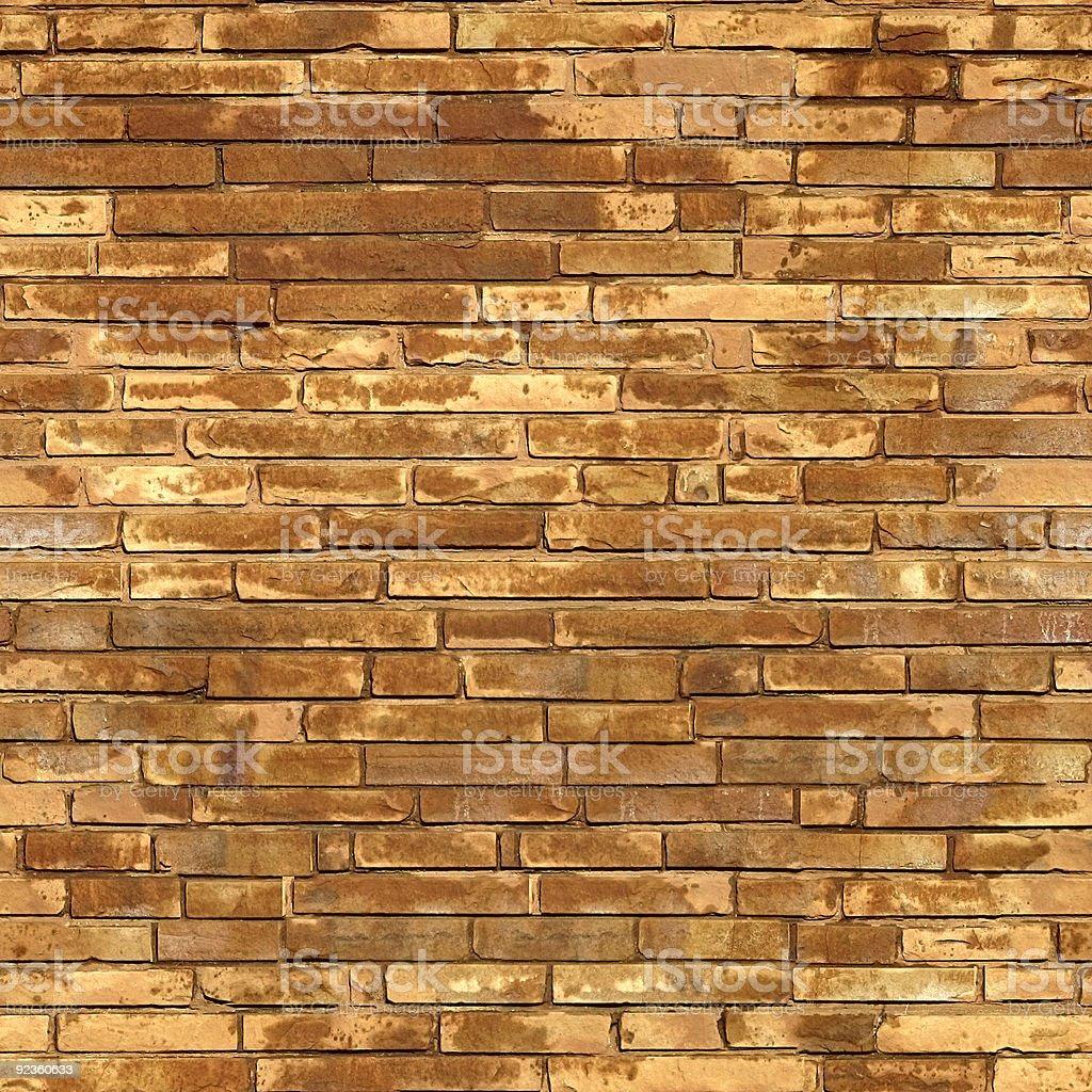Brick seamless wall. royalty-free stock photo