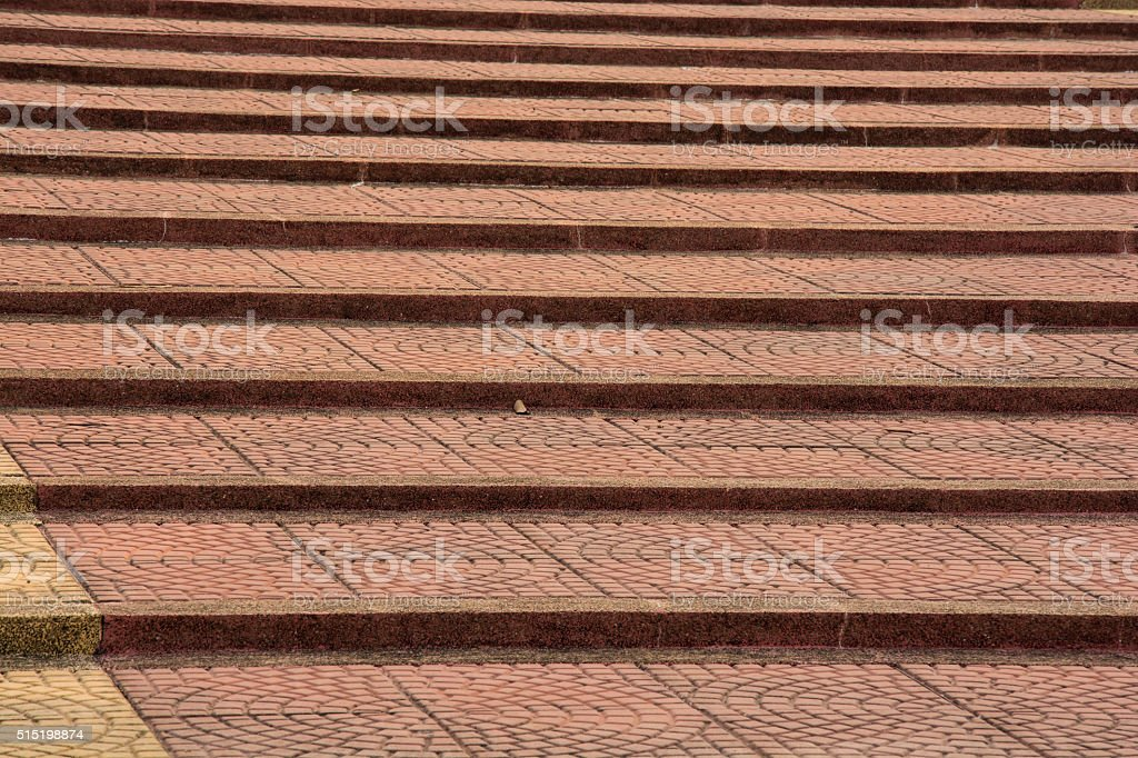 brick stair royalty-free stock photo