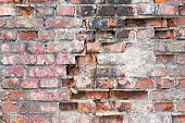 brick texture of an old wall