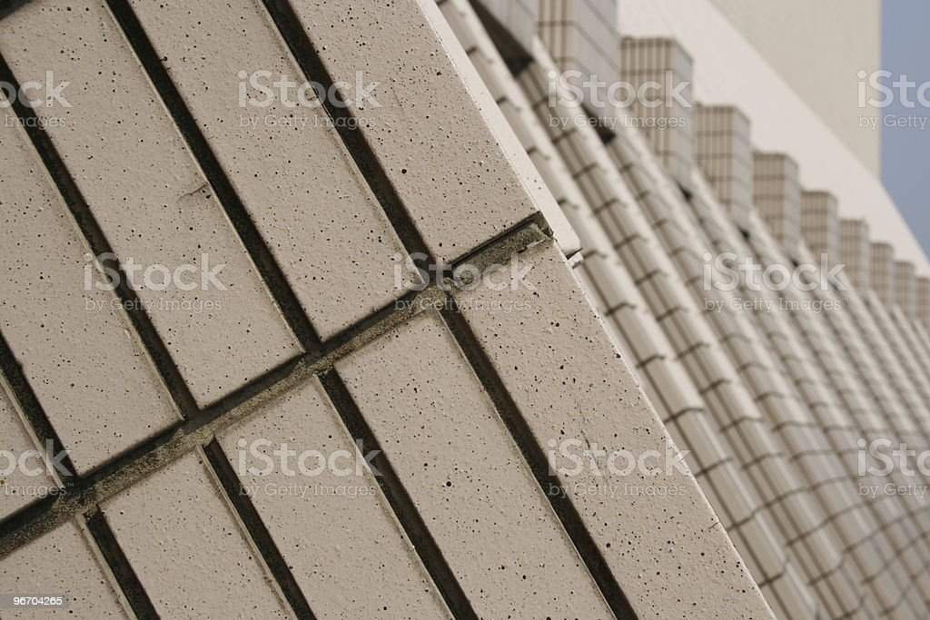 Brick Tile Repetition royalty-free stock photo