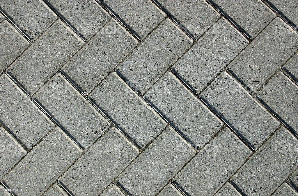 Brick Walk royalty-free stock photo