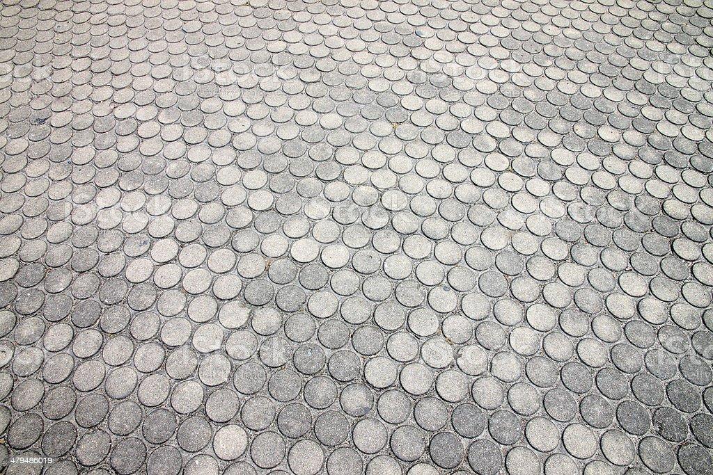 Brick walkway. royalty-free stock photo