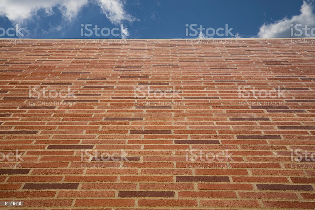 Brick Wall 8 royalty-free stock photo