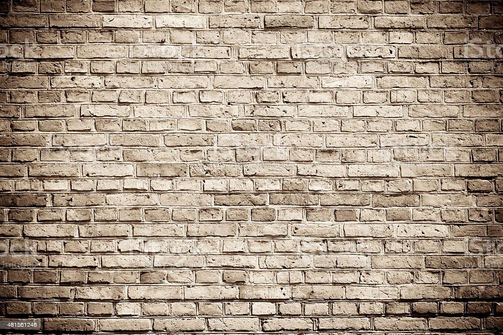 Brick wall background stock photo