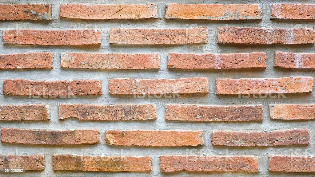 brick wall decoration texture background stock photo