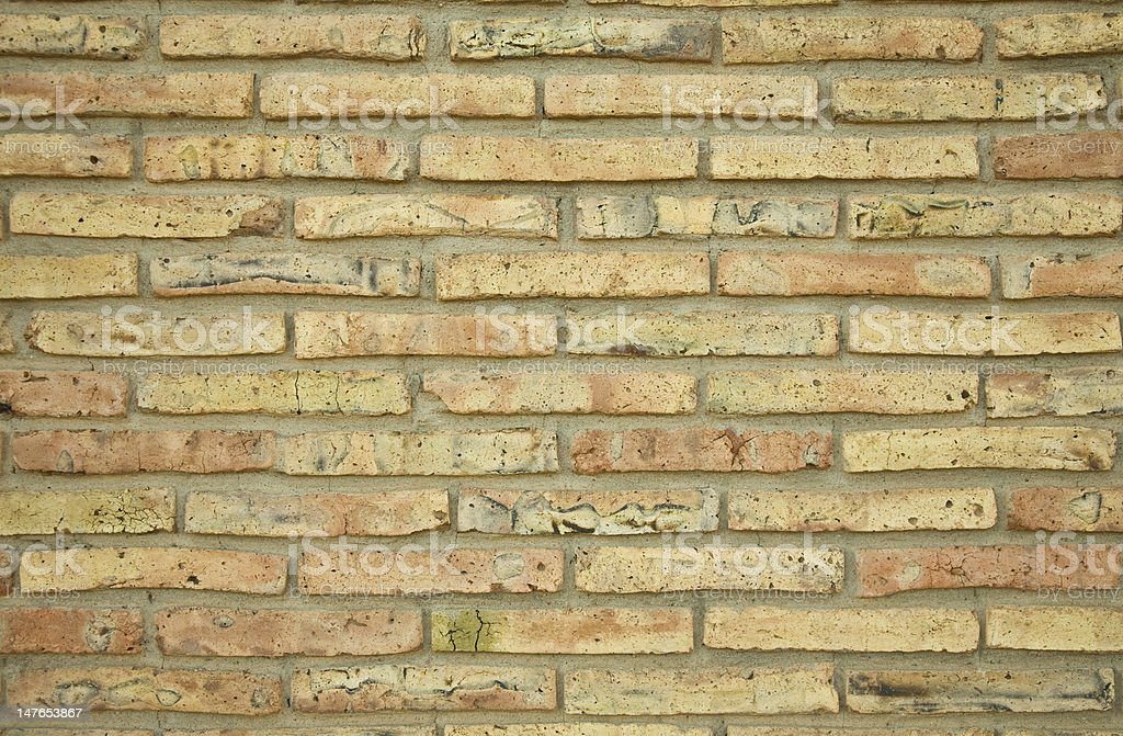 Brick wall for texture or background stock photo