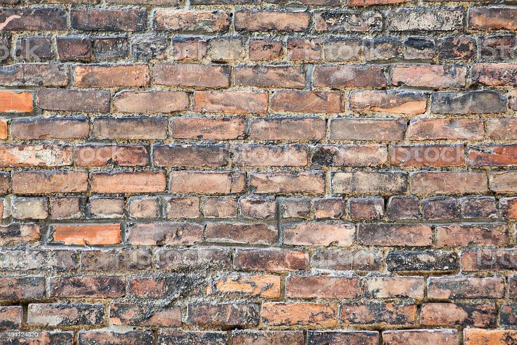 Brick Wall Old stock photo