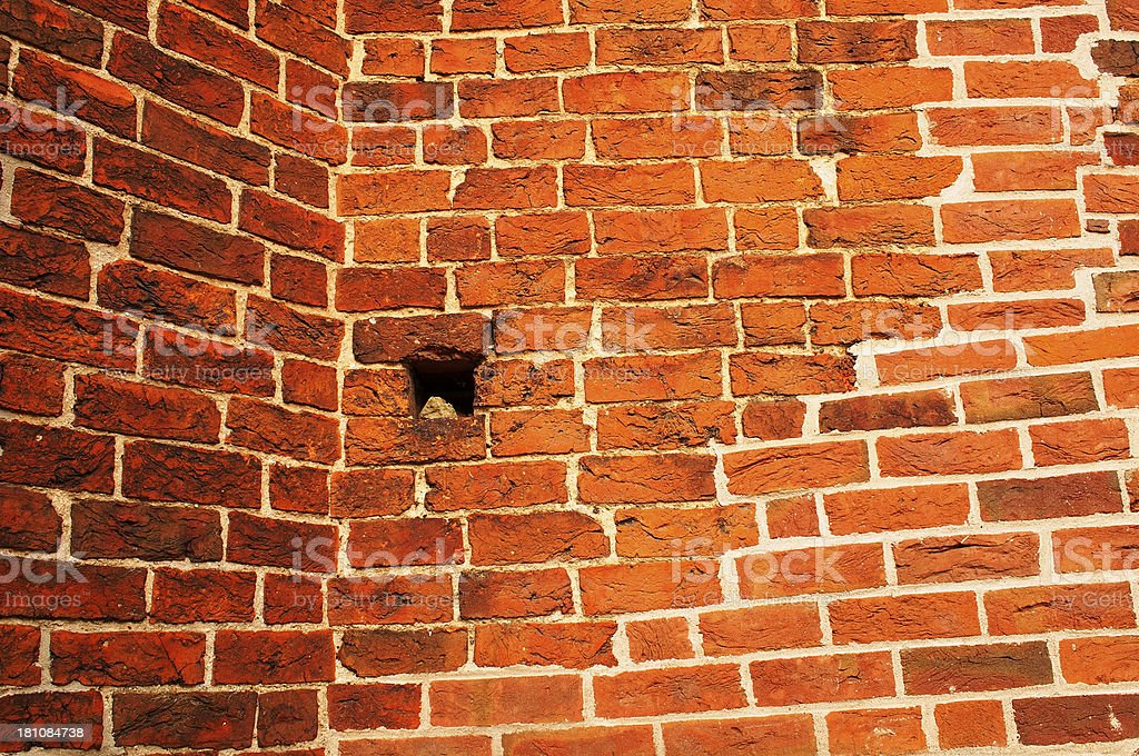 brick wall royalty-free stock photo