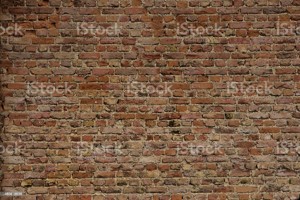 Brick Wall(XXL) stock photo