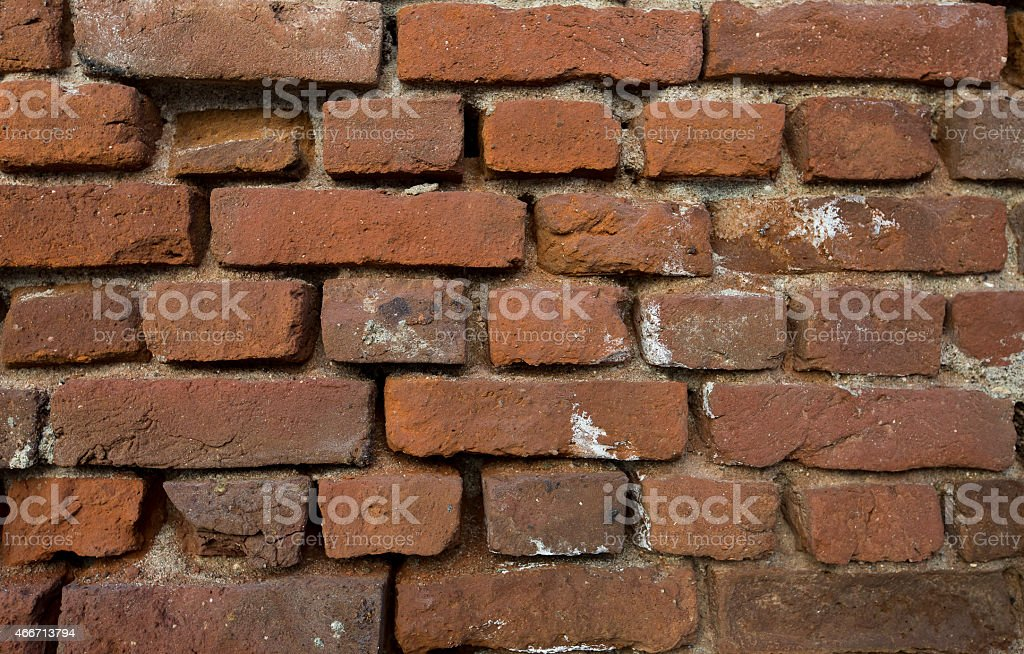 Brick Wall (macro-XXL) stock photo