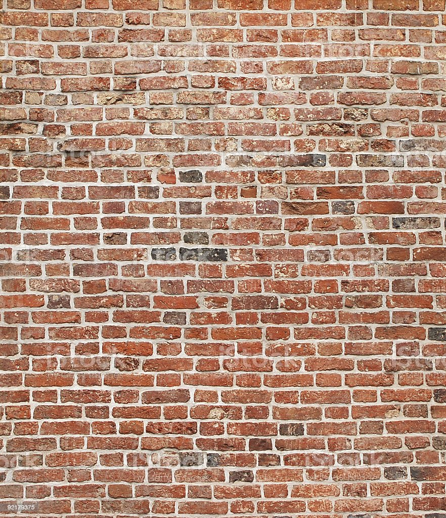 brick wall #1 royalty-free stock photo