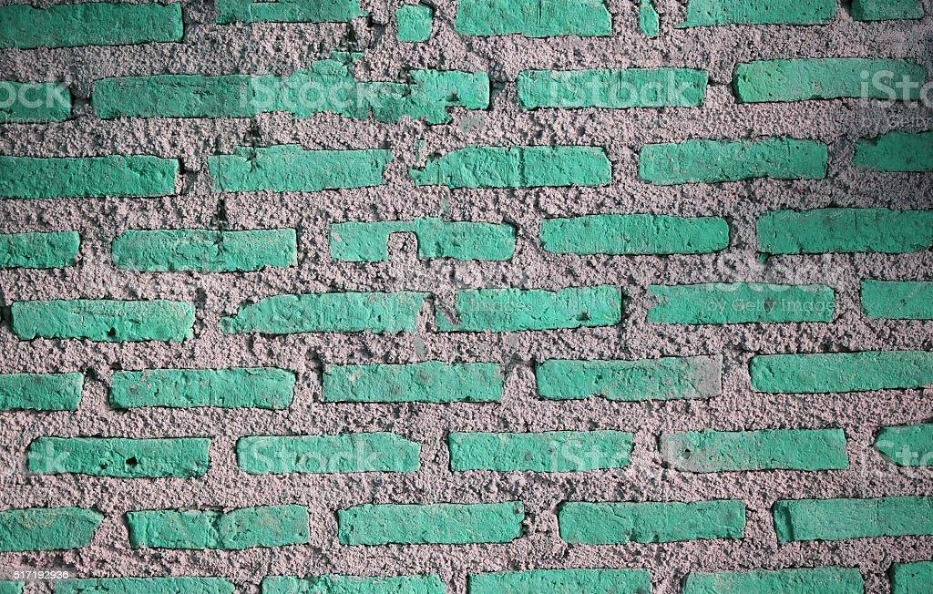 Brick wall stlye vintage stock photo