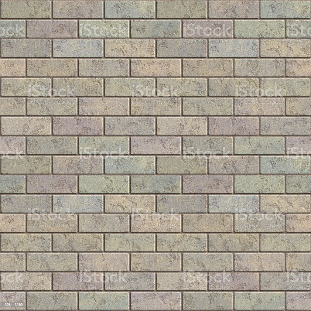 Brick wall texture generated. Seamless pattern. stock photo