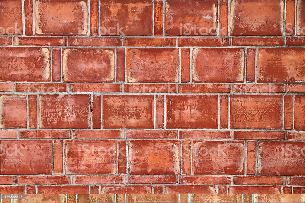 Brick wall texture royalty-free stock photo