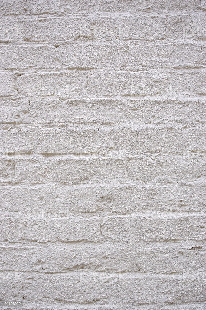 Brick wall - textured and painted stock photo