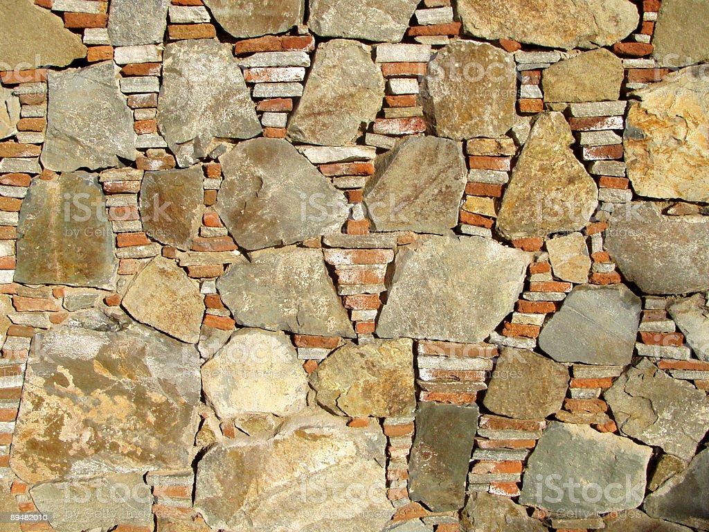 Brick walls royalty-free stock photo