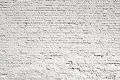 Brick white textured