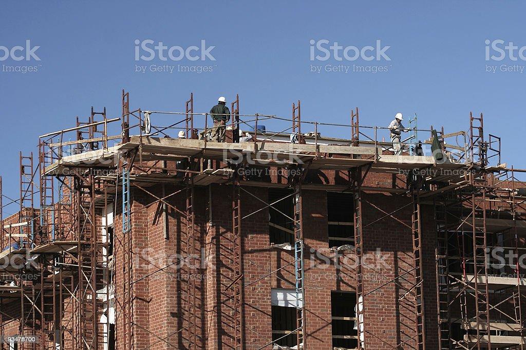 Brick Work II royalty-free stock photo