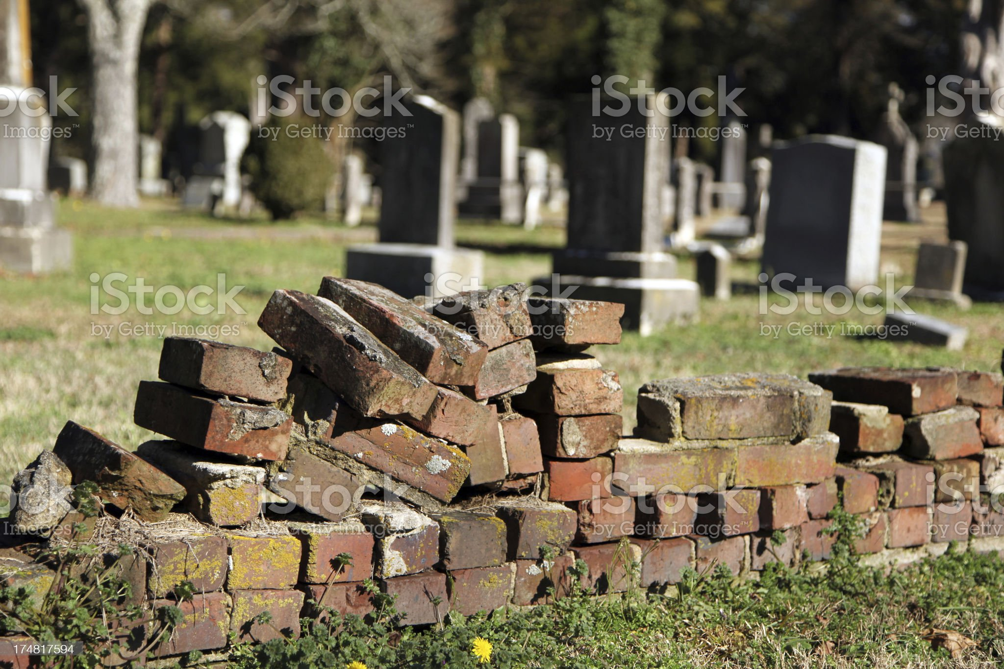 Brick Work royalty-free stock photo