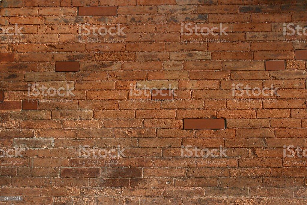 Bricked wall texture 5 stock photo
